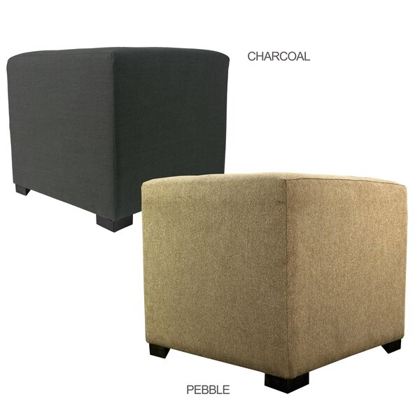 Emerie Tufted Cube Ottoman By Winston Porter Purchase