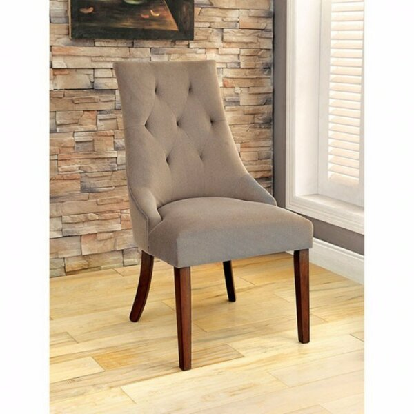 Zaria Solid Wood Dining Chair (Set of 2) by Gracie Oaks