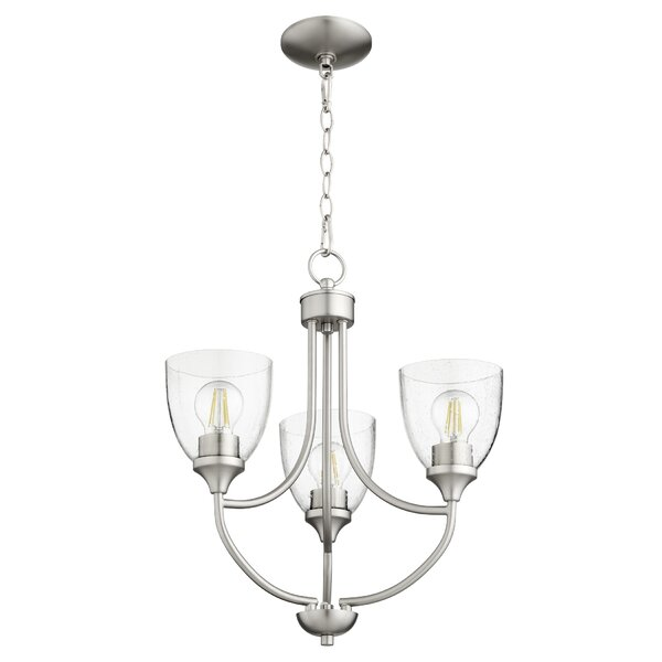 Rhea 3 - Light Shaded Empire Chandelier by Andover Mills Andover Mills