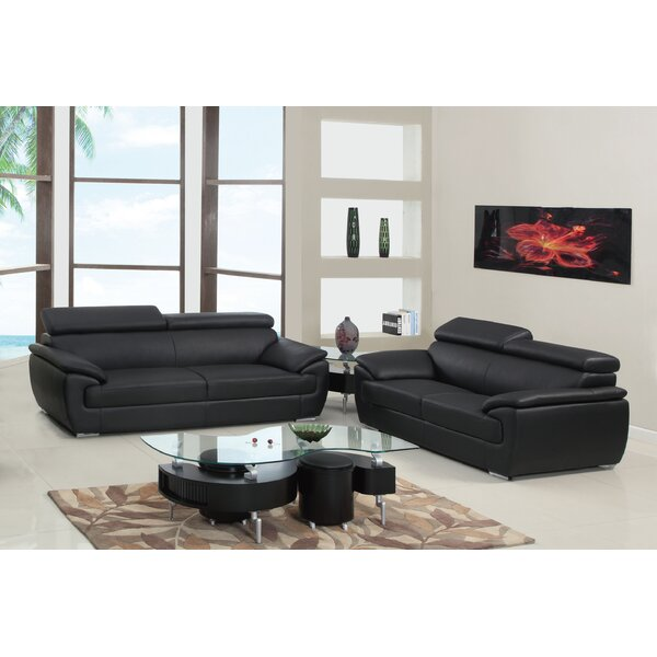 Teagan 2 Piece Living Room Set (Set of 2) by Orren Ellis
