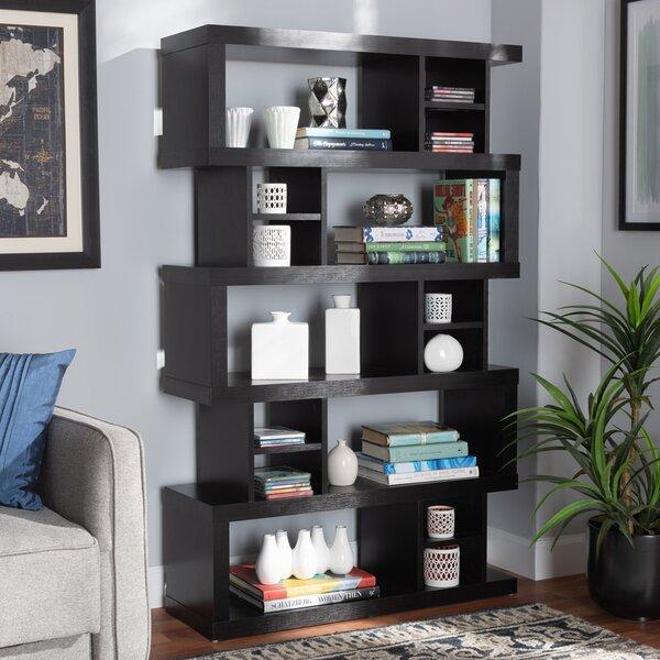 Drip Geometric Bookcase By Latitude Run