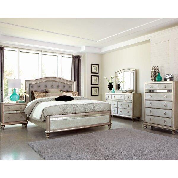 Hackett Upholstered Storage Standard Bed by Rosdorf Park