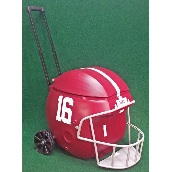 40 Qt. Football Helmet Ice Chest Rolling Cooler by Coolr Coolrz