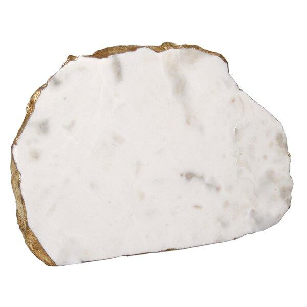 Irregular Marble Platter by Jodhpuri