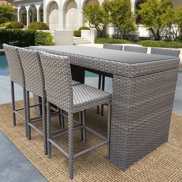 Rochford 7 Piece Pub Table Set by Sol 72 Outdoor