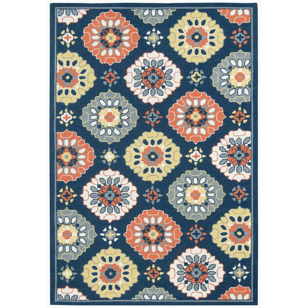 New Fairfield Multi-purpose Blue Indoor/Outdoor Area Rug by Winston Porter