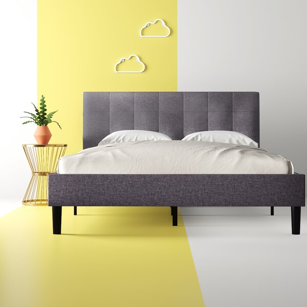 Yonce Upholstered Platform Bed by Hashtag Home