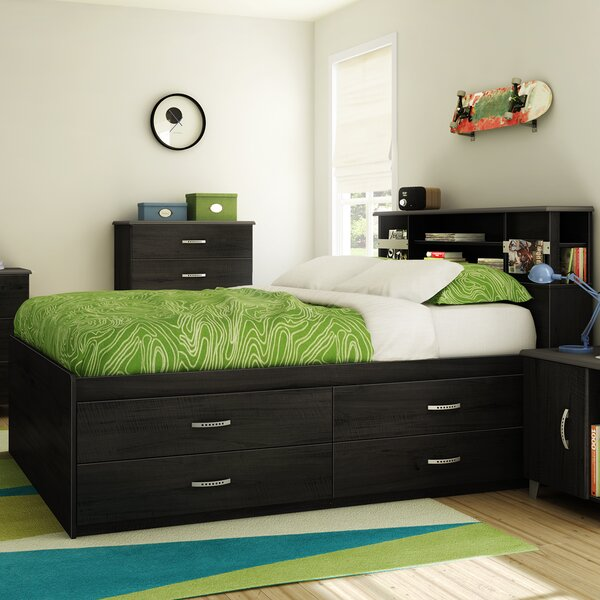 Silview Captain Bed with Storage by Ebern Designs