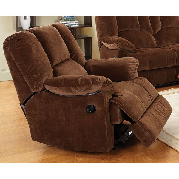 Mike Manual Glider Recliner by A&J Homes Studio