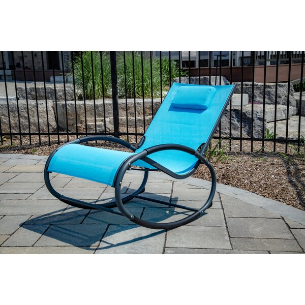 Troxel Rocking Chair with Cushions by Ebern Designs