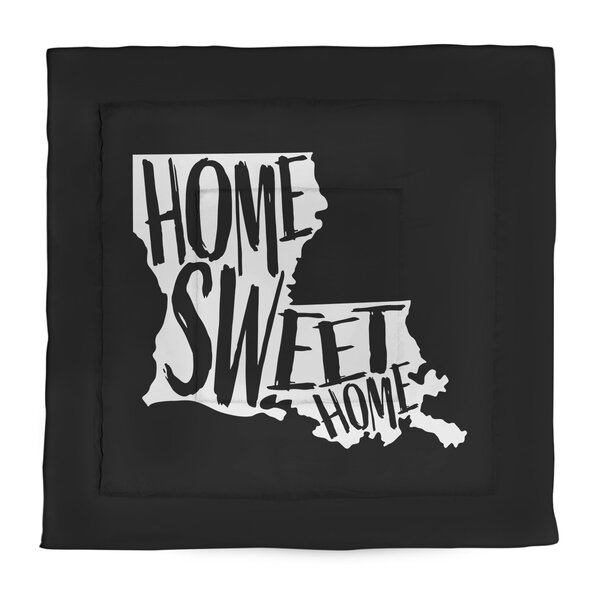 Home Sweet Louisiana Single Reversible Comforter
