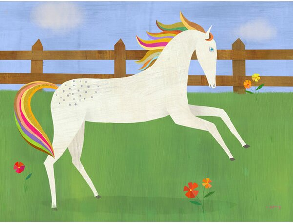 Picturesque Prance Canvas Art by Oopsy Daisy