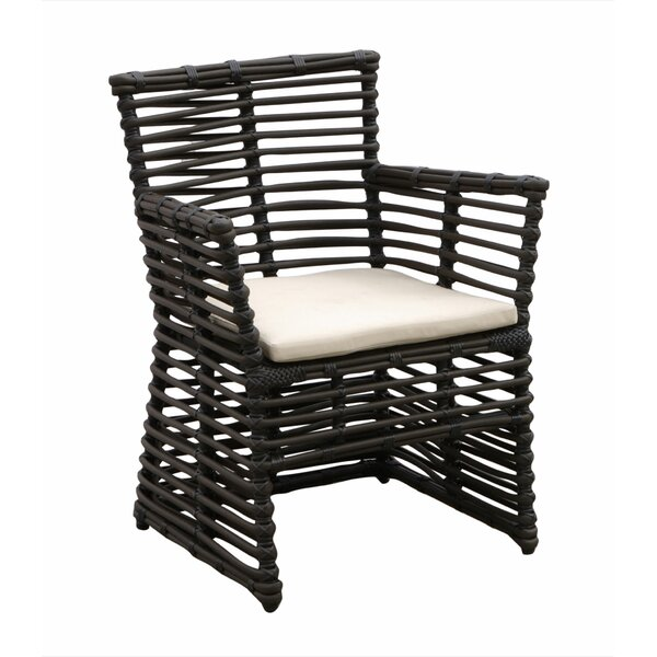 Venice Patio Dining Chair with Cushion by Sunset West