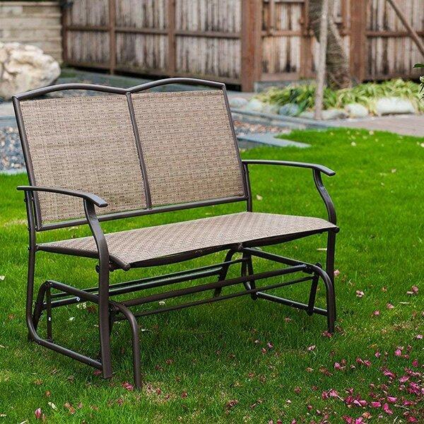 Woodbranch Glider Bench by Winston Porter