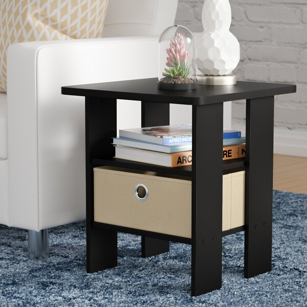 Kenton Petite End Table by Wrought Studio