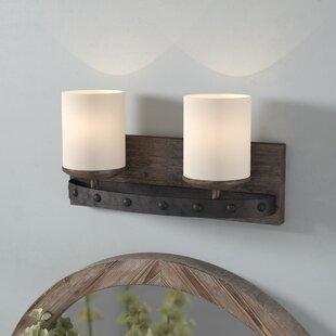Buy luxury Wilburton 2-Light Vanity Light By Laurel Foundry Modern Farmhouse