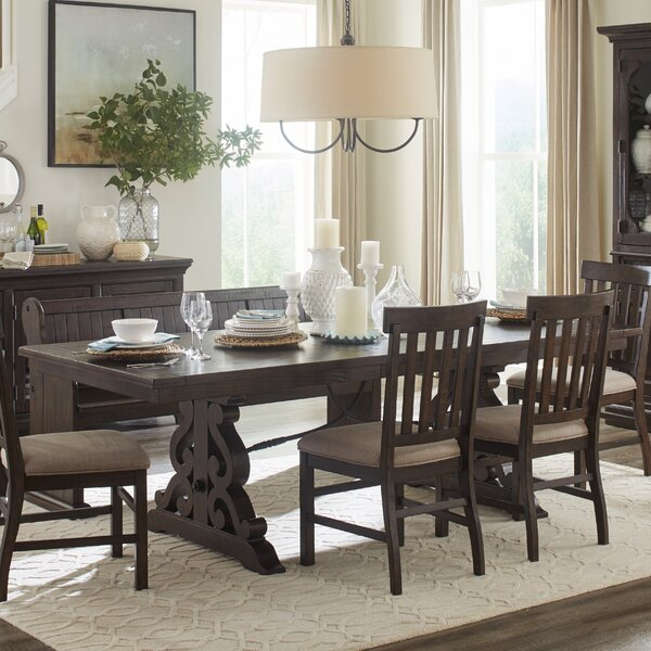 Shepard 6 Piece Solid Wood Dining Set By One Allium Way