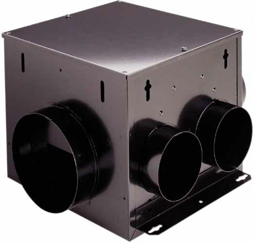 140 CFM Multi-Port In-Line Ventilator Fan by Broan