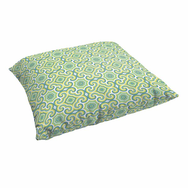 Zelda Knife Edge Indoor/Outdoor Floor Pillow by Latitude Run