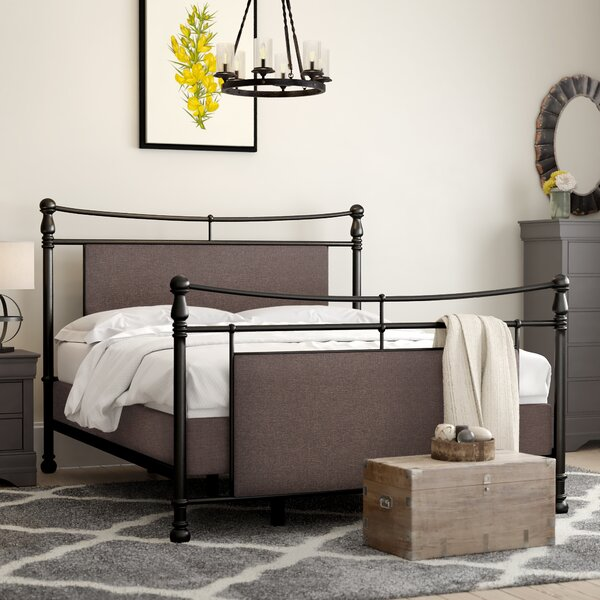 Mathilda Upholstered Standard Bed by Laurel Foundry Modern Farmhouse