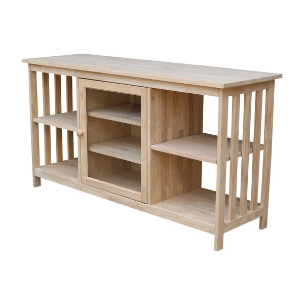 Schlegel Solid Wood TV Stand For TVs Up To 60