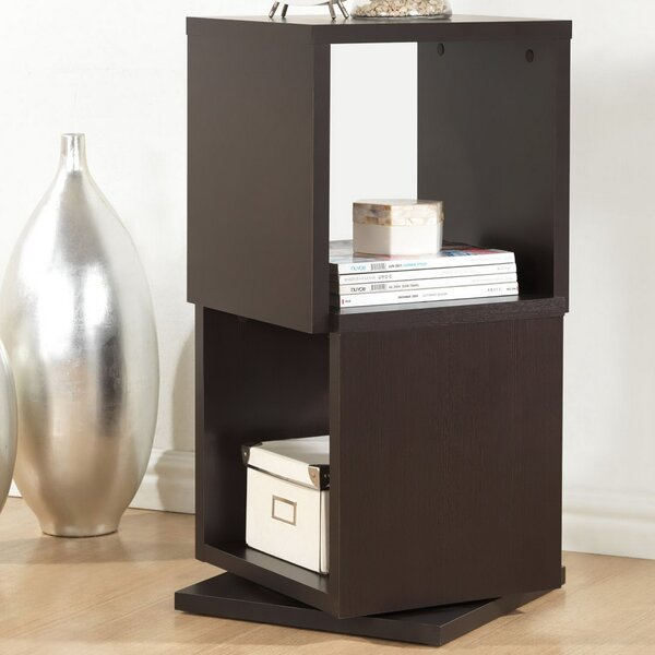 Review Rotating Cube Bookcase