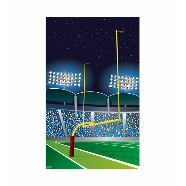 Football Goal Post Standup by Advanced Graphics