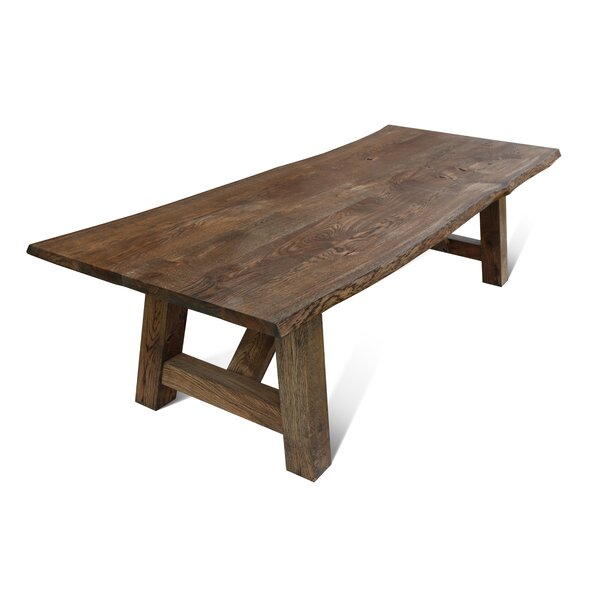 Maggie Solid Wood Dining Table By Loon Peak