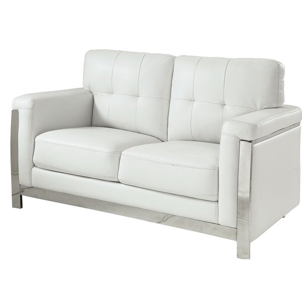 Tomball Contemporary Standard Loveseat by Orren Ellis