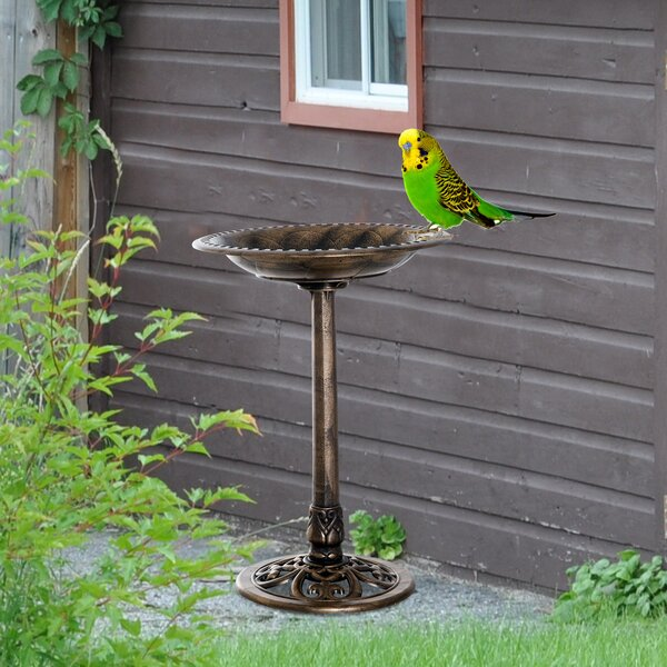 Birdbath by Outsunny