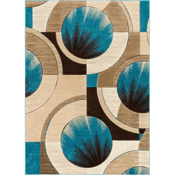 Yolo Blue/Ivory Area Rug by Well Woven