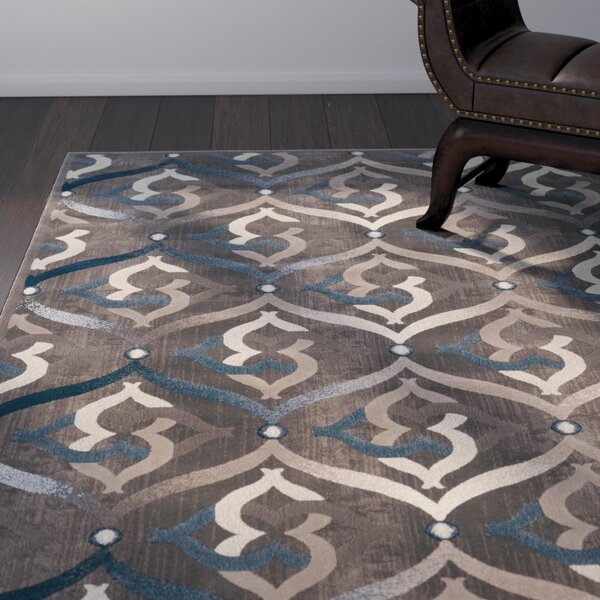 Fulop Brown Area Rug by Ebern Designs