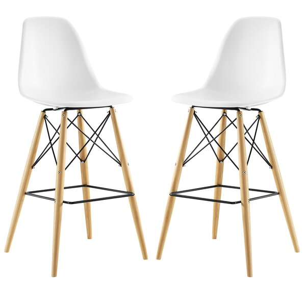 Pyramid 29.5 Bar Stool (Set of 2) by Modway