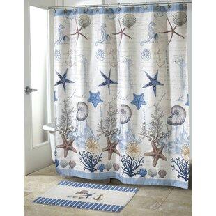 Affordable Antigua Shower Curtain ByAvanti Linens