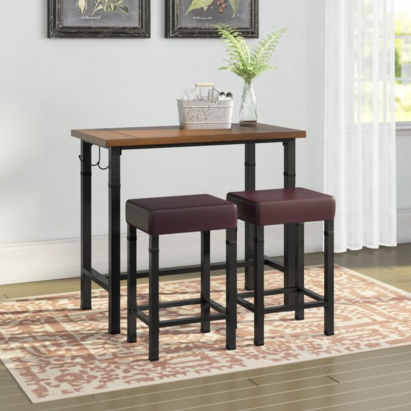 Sevigny 3 Piece Pub Table Set By Laurel Foundry Modern Farmhouse