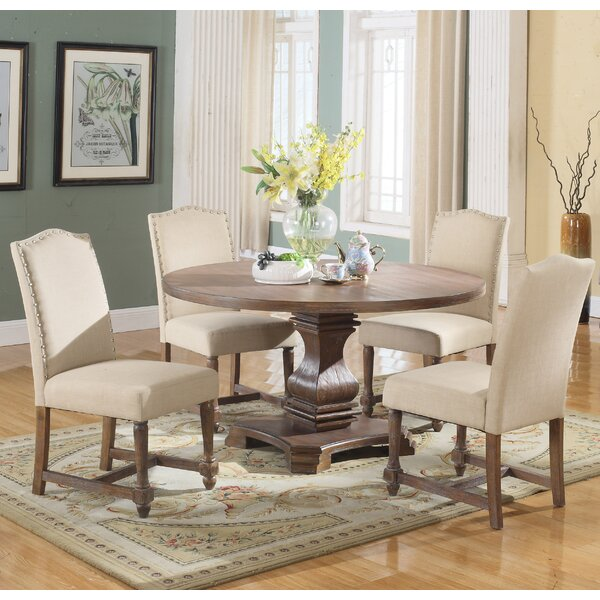 Arielle 5 Piece Round Dining Set by Alcott Hill