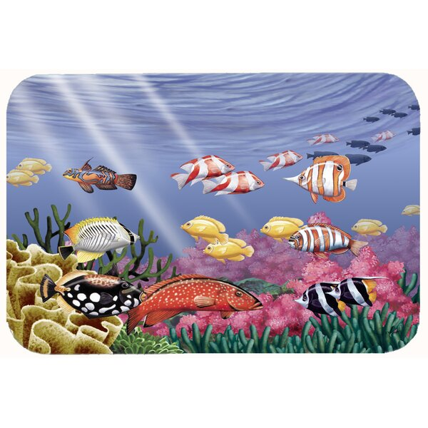 Undersea Fantasy 7 Kitchen/Bath Mat by Caroline's Treasures