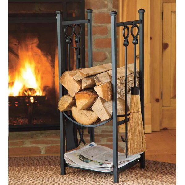 Log Rack by Plow & Hearth