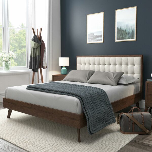 Abril Upholstered Platform Bed by Corrigan Studio
