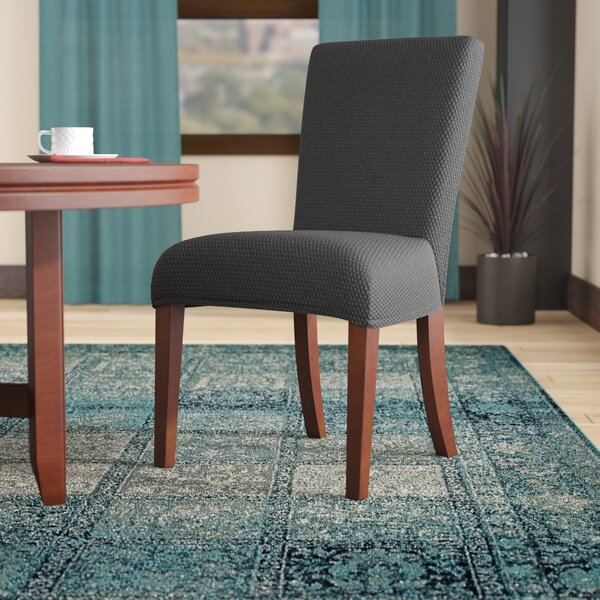 Stretch Polyester Dining Chair Slipcover by Winston Porter