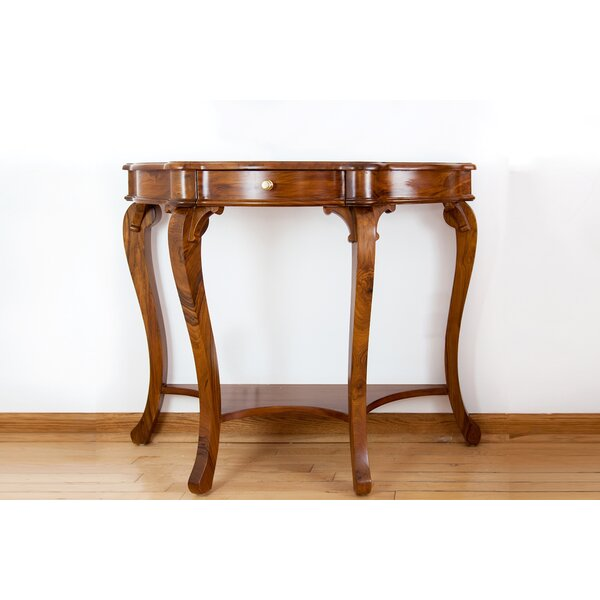 Review French Style Cabriole Console Table