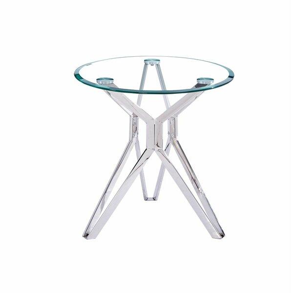 Landaverde End Table by Ebern Designs