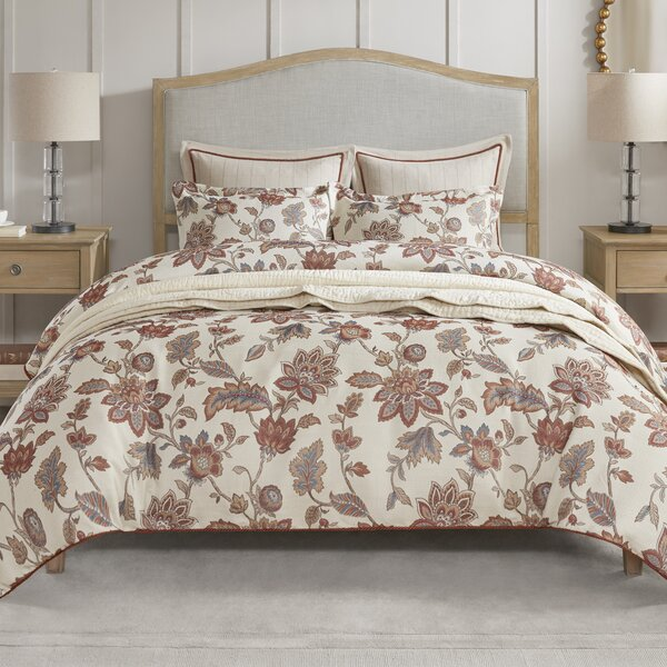 Victoria Queen Upholstered Standard Bed by Madison Park Signature