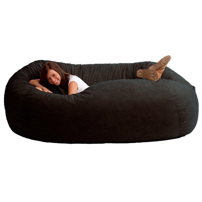 Comfort research fuf bean bag sofa reviews wayfair fuf bean bag sofa solutioingenieria Image collections