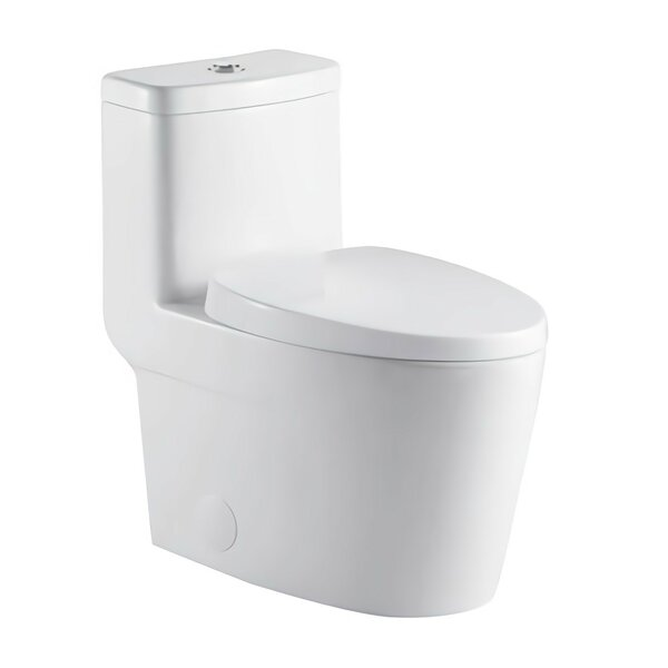 Liiso Dual Flush Elongated One-Piece Toilet by Morenobath