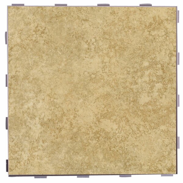Classic ThinLine 12 x 12 Porcelain Field Tile in Sand by SnapStone