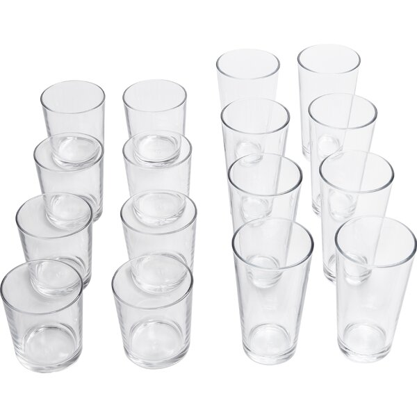 Manh 16 Piece Drinkware Set by Red Barrel Studio