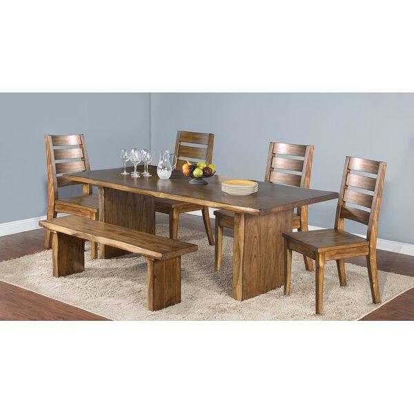Alsatia Solid Wood Dining Table by Loon Peak
