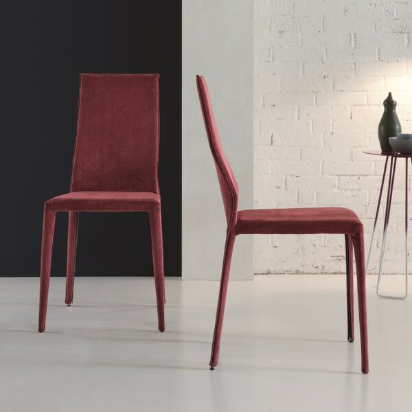 Star Upholstered Dining Chair (Set of 2) by YumanMod