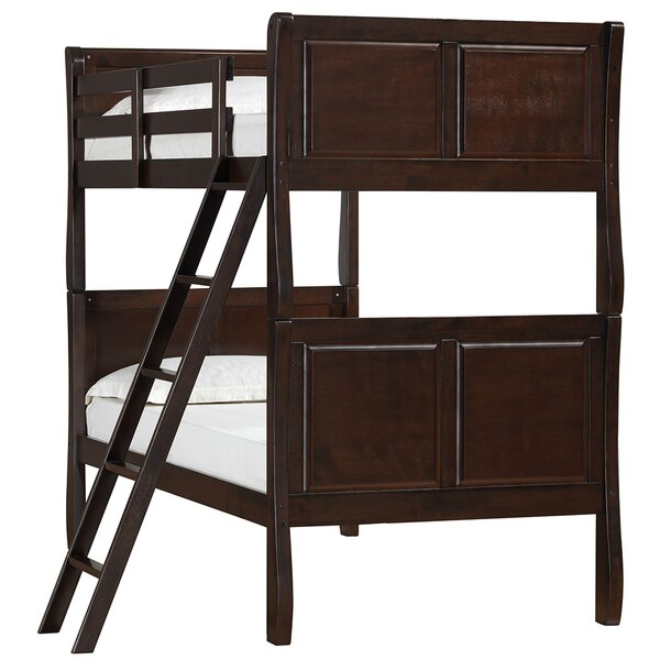 Chamblee Twin over Twin Bunk Bed by Simmons Casegoods by Harriet Bee